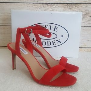 New Steve Madden Faith Suede Ankle Strap Sandal